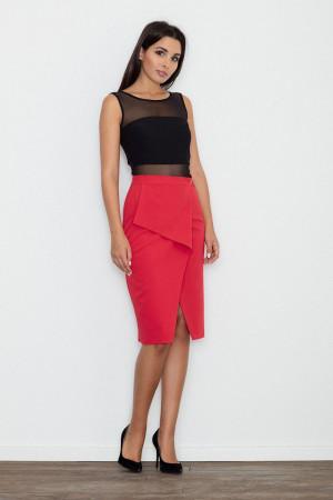 Dámská sukně M559 - Figl  červená