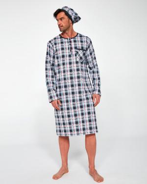 Pánská noční košile Cornette 110/06 654502 3XL-5XL dł/r  mix barev 3XL