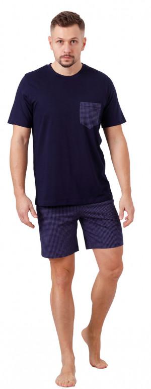Pánské pyžamo FELIPPO 1066 liliová 2XL