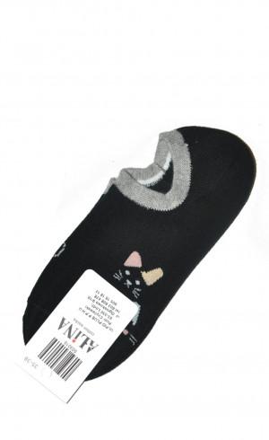 Dámské ponožky Ulpio Alina 5030 35-42 černá 35-38