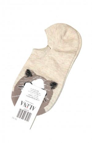 Dámské ponožky Ulpio Alina 5035 35-42 béžová 35-38