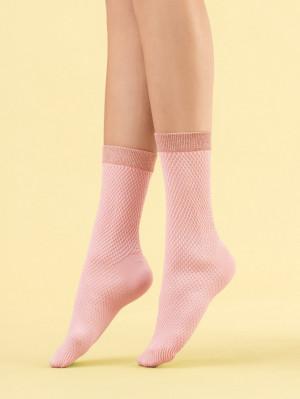 Dámské ponožky Fiore G 1111 Cornetto 60 den rose baletto univerzální