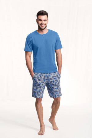 Pánské pyžamo 730 BIG modrá