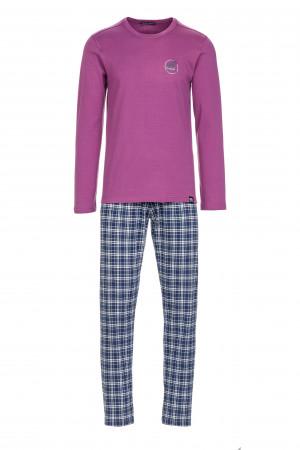 Pánské pyžamo 13704 - Vamp fialová/modrá
