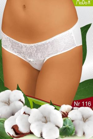 Dámské kalhotky 116 white - MODO bílá