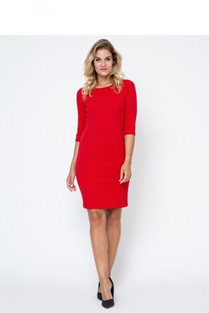 Dámské šaty 4275-SKA50 model 102761 Bass  červená