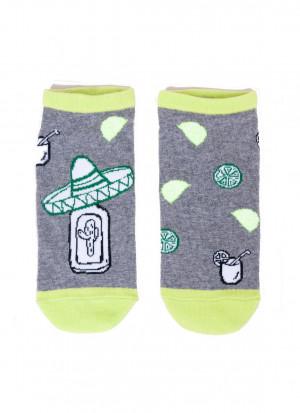Pánské ponožky YO! SK-86 Spoksy 39-46 modrá 43-46