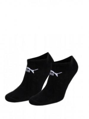 Pánské ponožky Puma 906811 Sneaker Soft A'2 černá 43-46