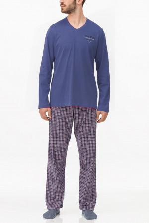 Pánské pyžamo 11698 -180 - Vamp tmavě modrá 3XL