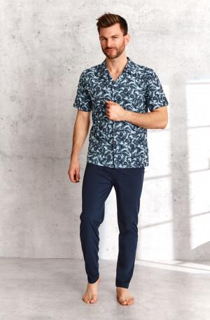 Pánské pyžamo 921 GRACJAN M-XL Jaro 2021 palmy