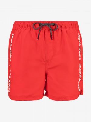 Bali Plavky Jack & Jones Červená