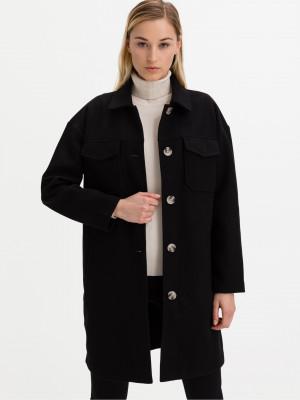 Kabát Vero Moda Černá