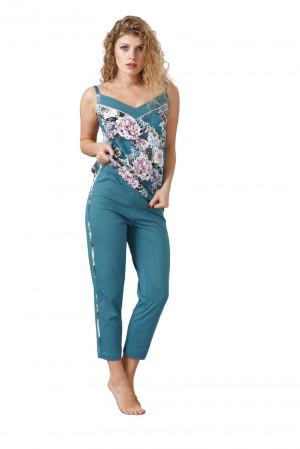 Dámské pyžamo KIRA 1059 mořsky modrá