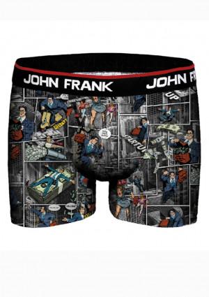Pánské boxerky John Frank JFBD326 L Dle obrázku