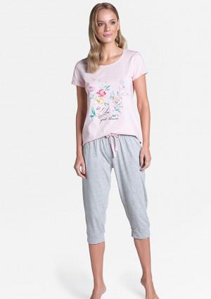 Dámské pyžamo Henderson 38889 L Světle růžová