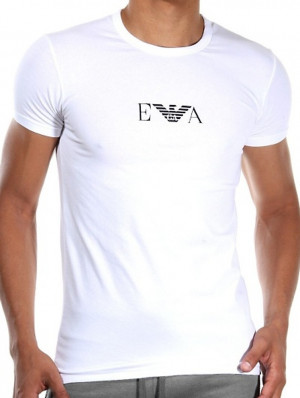 Pánské triko Emporio Armani 111267 bílá