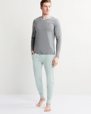 Pánské pyžamo 500014 -417 - Jockey sv.zelená