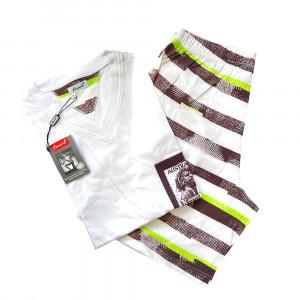 Pánské pyžamo Urulu V KR - Favab bílá