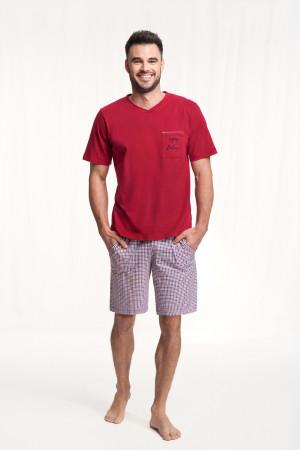 Pánské pyžamo 787 bordó