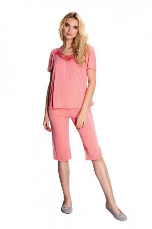 Dámské pyžamo MATYLDA 83639 - Mewa korálová