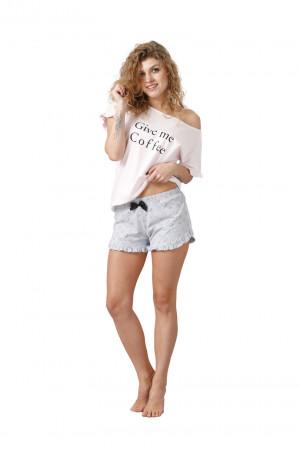 Dámské pyžamo NEVA 1015 růžová