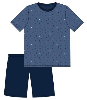 Pánské pyžamo 472/117  HENRY tmavě modrá
