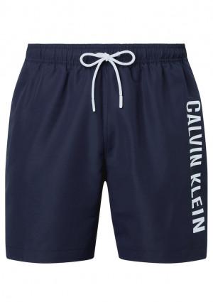 Pánské plavky Calvin Klein KM0KM00570 L Tm. modrá