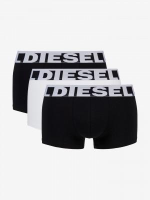 Boxerky 3 ks Diesel Černá