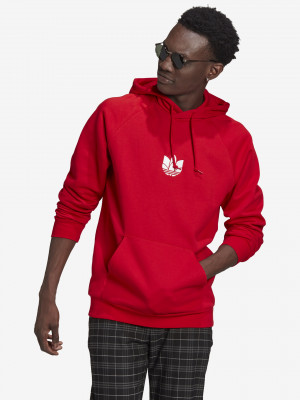 Loungewear Adicolor 3D Trefoil Mikina adidas Originals Černá