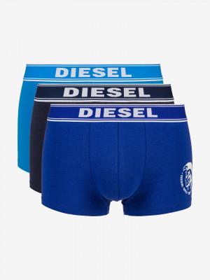 Boxerky 3 ks Diesel Modrá