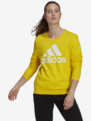 Big Logo Mikina adidas Performance Žlutá