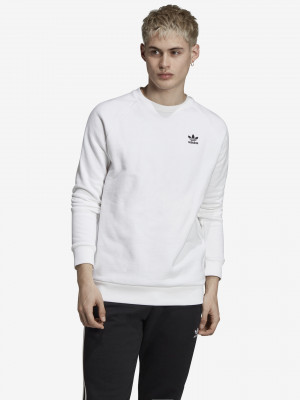 Essential Crew Mikina adidas Originals Bílá