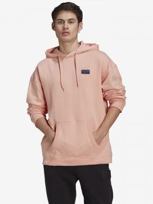Abstract Mikina adidas Originals Růžová
