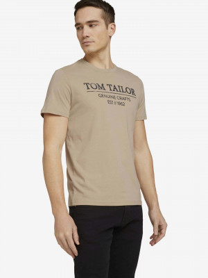 Triko Tom Tailor Béžová