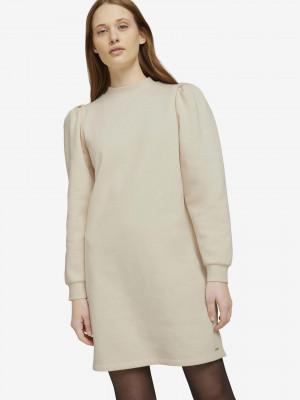 Šaty Tom Tailor Béžová