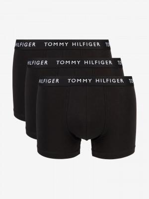 Boxerky 3 ks Tommy Hilfiger Černá
