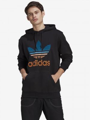 Trefoil Wam-Up Mikina adidas Originals Černá