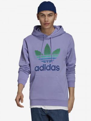 Trefoil Ombre Mikina adidas Originals Fialová
