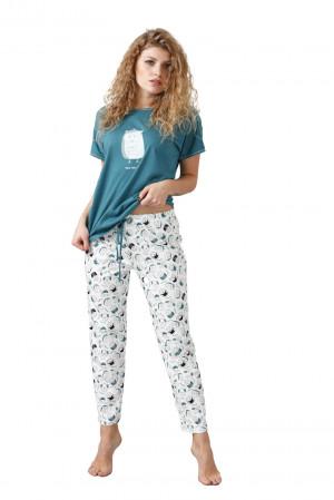 Dámské pyžamo ELENA 1045 mořsky modrá