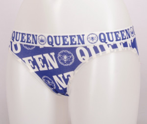 Dámské kalhotky Little queen - Donella tmavě modrá