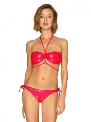 Kouzelné plavky Coralya - Obsessive červená