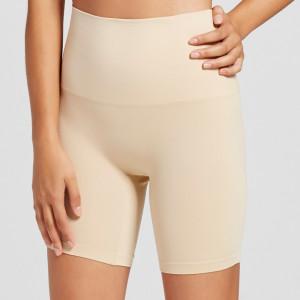 Stahovací kalhotky s nohavicemi  - Maidenform tělová