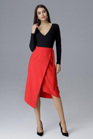 Dámská sukně M629 - Figl červená S-36