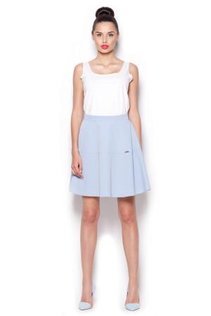 Dámská sukně M285 - Figl světle modrá M-38
