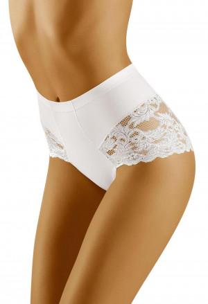 Stahovací kalhotky Slimea white - WOLBAR bílá