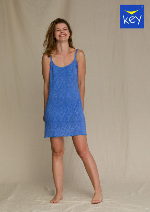 Dámská noční košile LND 916 A21 modrá