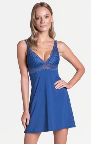 Dámská noční košile Henderson Ladies 39050 Lilly w/r S-XL navy