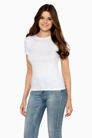 Dámské tričko Claudia white - BABELL bílá