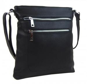 Černá crossbody dámská kabelka MAHEL 336-MH - Mahel černá