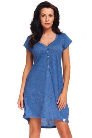 Dámská noční košile Perge jeans modrá